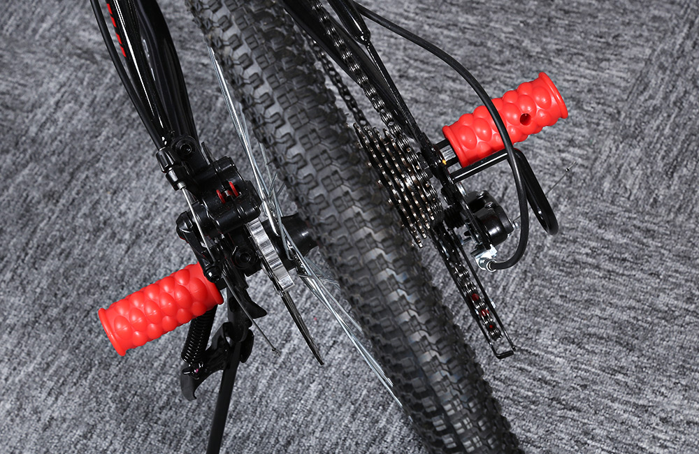 2pcs Mountain Bike Bicycle Cycling Plastic Wheel Pedals Axle Foot Pegs