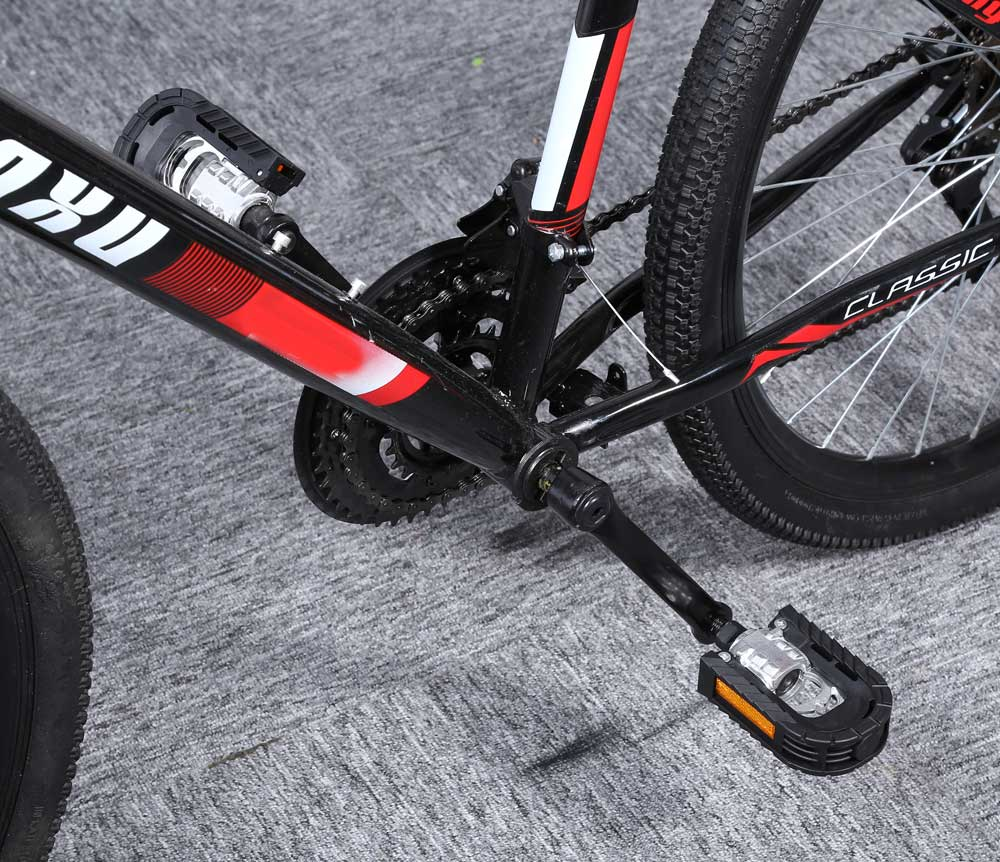 Paired Aluminum Alloy Bicycle Mountain Bike Folding Non-slip Pedals
