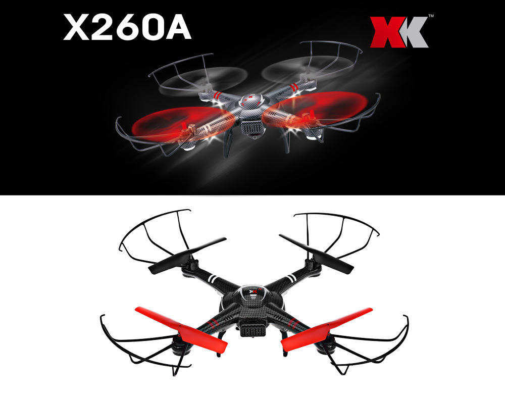 XK X260A 5.8G 4CH 6-Axis Gyro 720P Camera FPV Video Transmission RTF RC Quadcopter