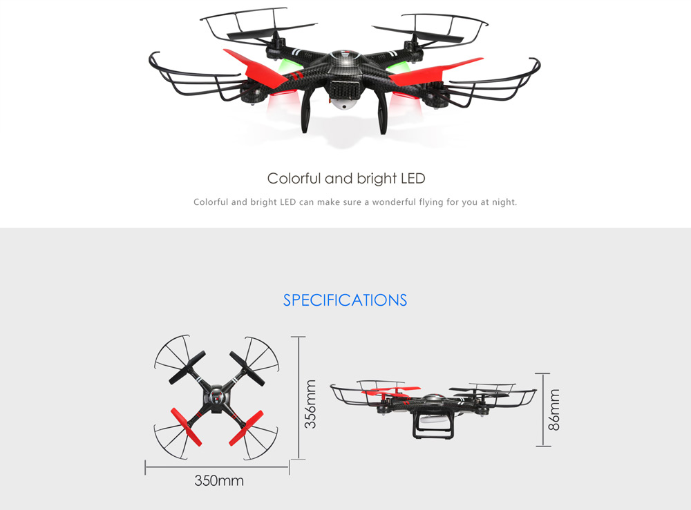 XK X260 5.8GHz 4CH 6-Axis Gyro RTF RC Quadcopter Drone Toy