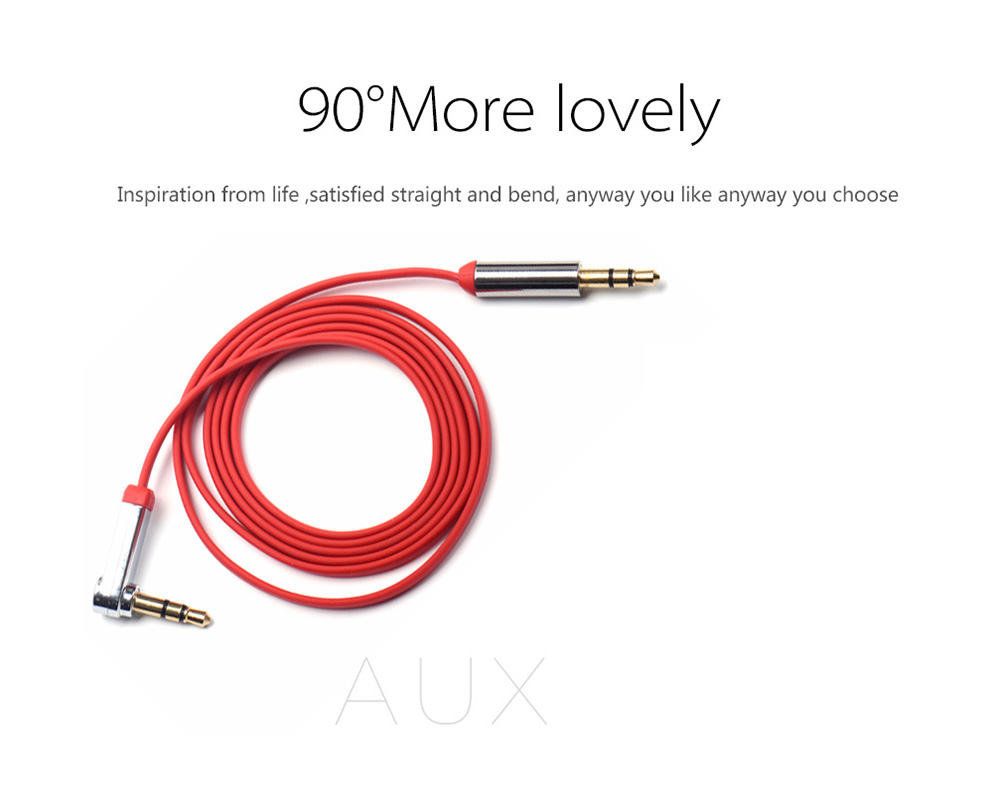 Vention B03 1m 3.5mm Aux Flat Audio Male to Male Cable Cord