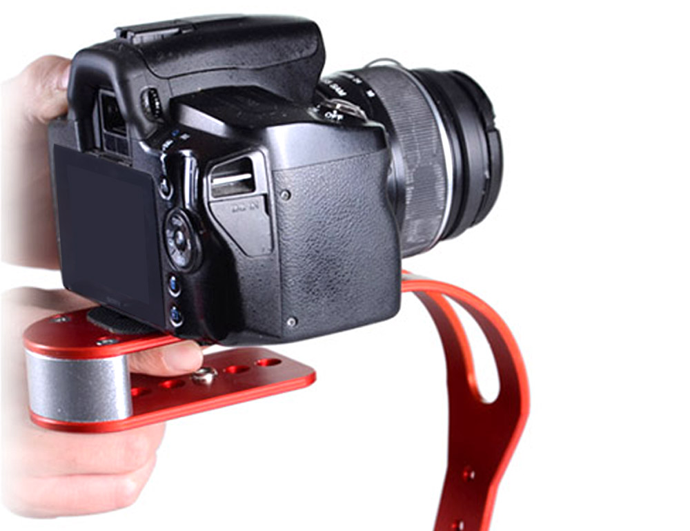 CS - S0 Handheld Stabilizer Detachable Handle for iPhone Samsung Hero HD Digital Camera Camcorder DSLR DV