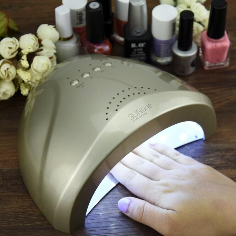 SUNone 48W Manicure Tool LED / UV Phototherapy Nail Gel Lamp