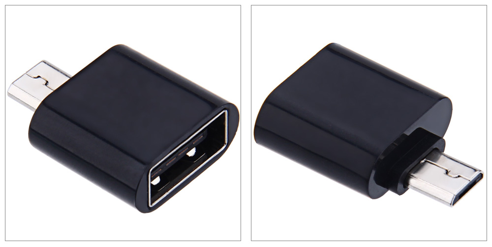 Micro USB OTG Data Transfer and Charging Adapter