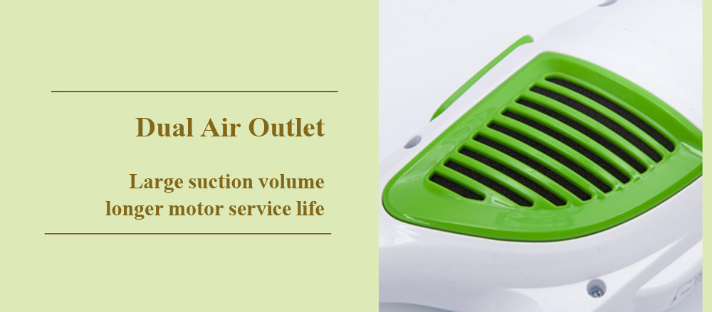 2 in 1 Portable Mini Home Stick Handle Vacuum Cleaner Dust Collector
