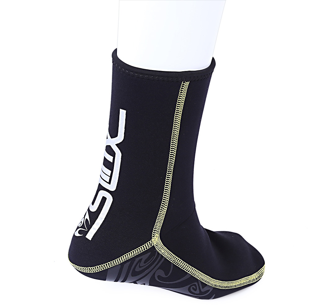Slinx 1130 Paired 3MM Unisex Scuba Diving Socks Swimming Prevent Scratch Warming Snorkeling Spearfishing Boot