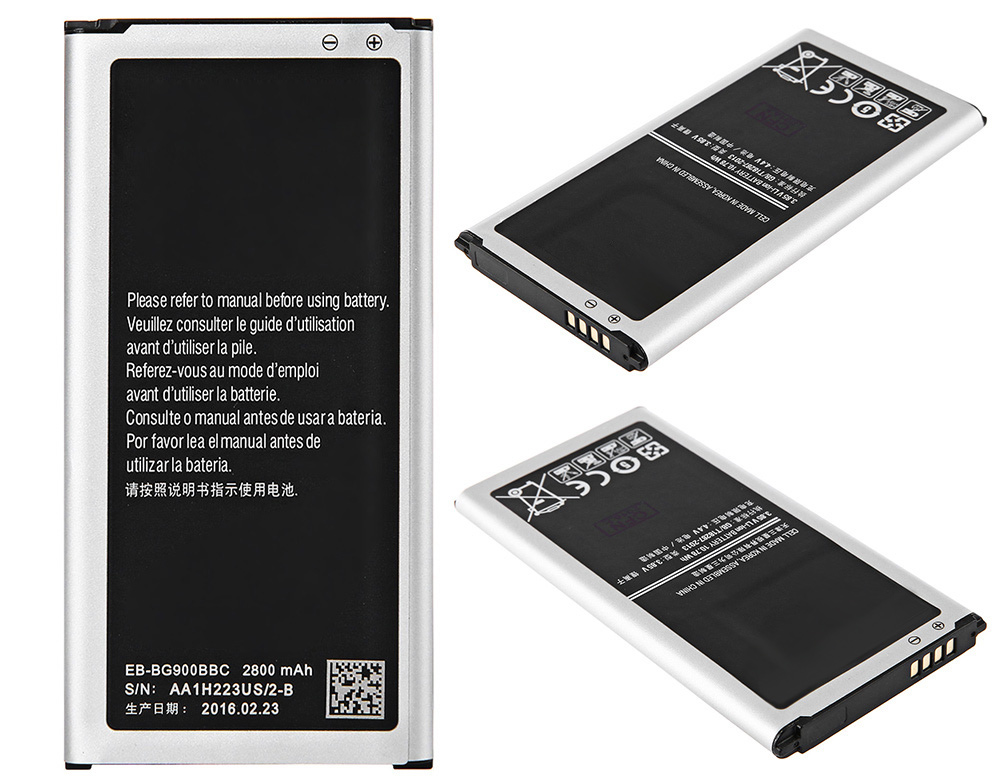 2800mAh Replacement Li-ion Battery NFC Technology for Samsung Galaxy S5 G900S / G900F / G9008V / 9006V / 9008W / 9006W