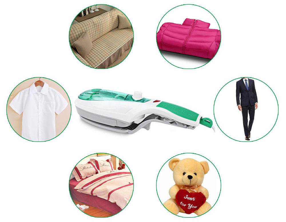 Portable Handheld Clothes Steam Iron Machine Steam Brush Household