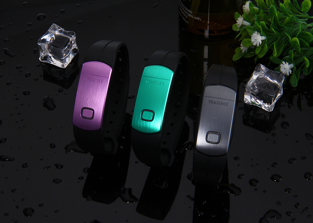 TRASENSE TS - SH06 Smart Bracelet Bluetooth 4.0 Calls Reminder Sports Wristband for Android iOS