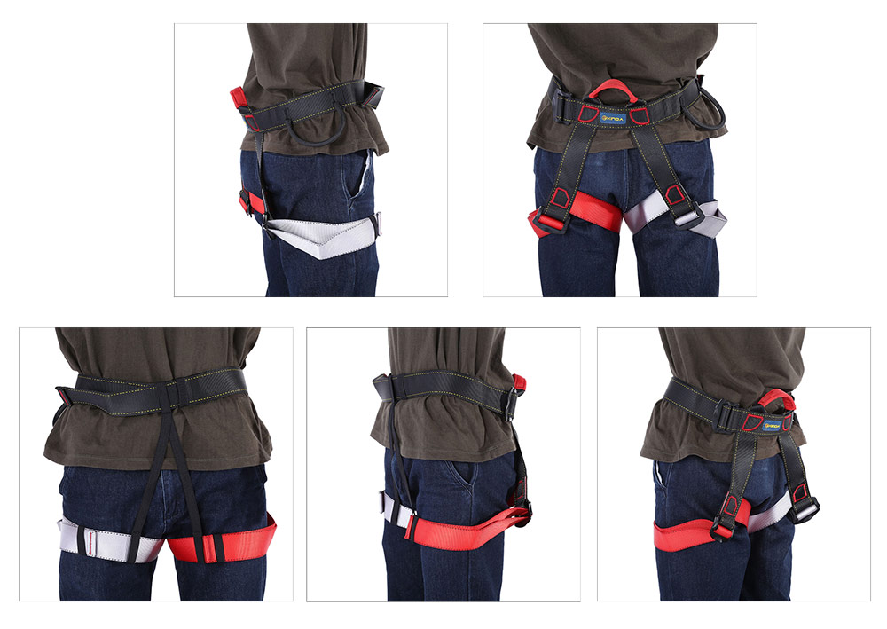 XINDA XD - A9501 Harness Seat Belt for Outdoor Rock Climbing Rappelling Equipment