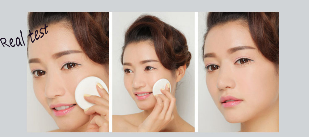 5 in 1 Waterproof Magic Powder Concealer Trimming Dry Wet Double Use