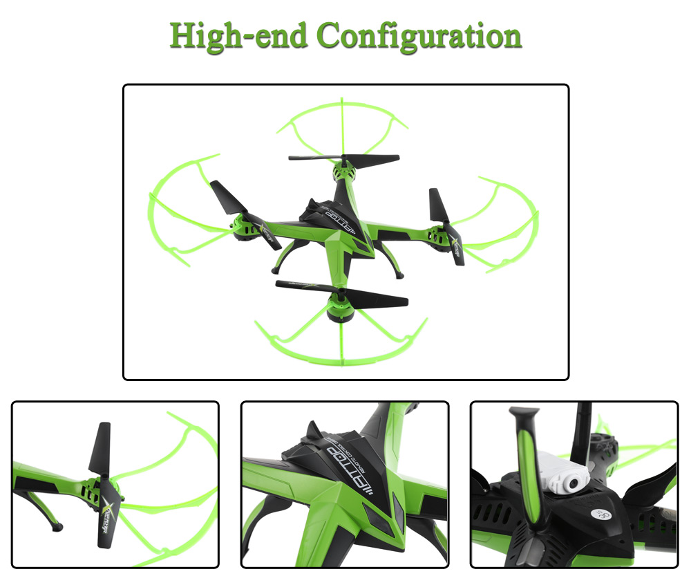 Attop A10 4CH 6-Axis Gyro 2.0MP Camera RC Quadcopter