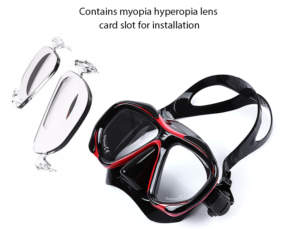 WHALE Professional Diving Water Sports Training Snorkeling Silicone Mask Snorkel Glasses Set
