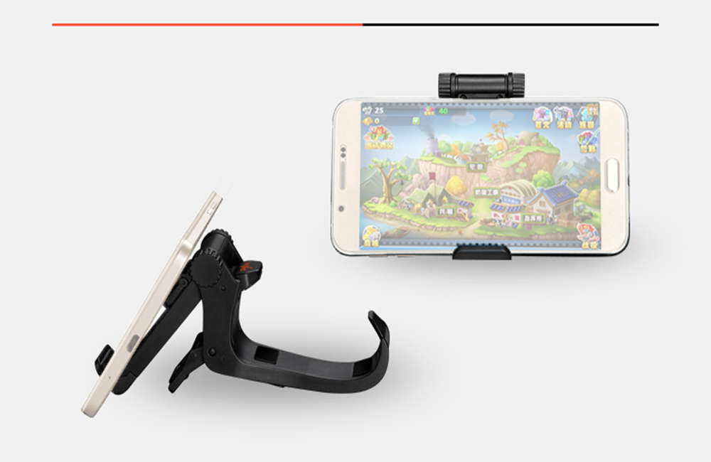 PXN - 1003 Gamepad Clip Game Controller Holder Mount Cradle for iPhone / Samsung / HTC / LG / SONY Smartphone
