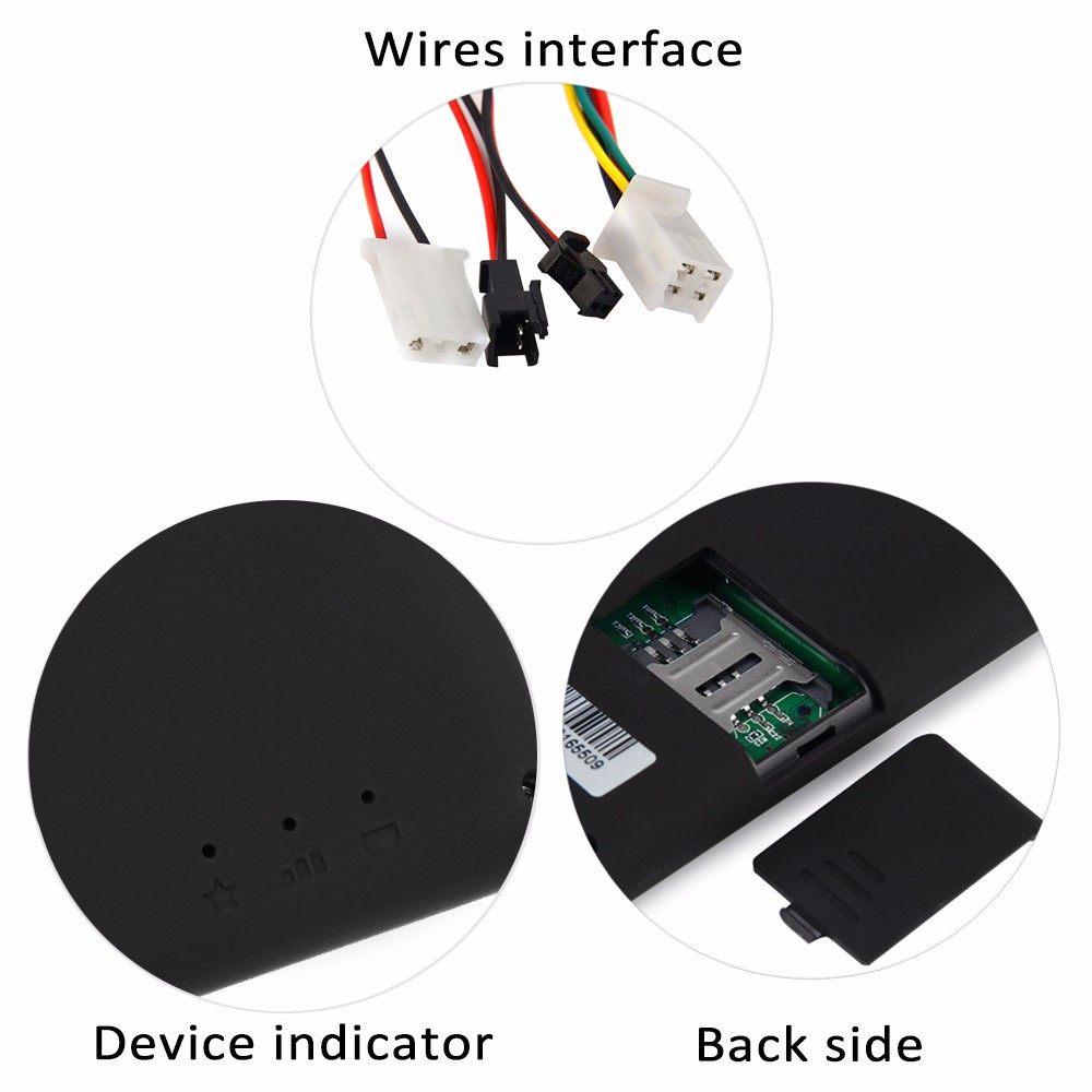 GT06 GPS SMS GPRS Vehicle Tracker Locator Remote Control Tracking Alarm