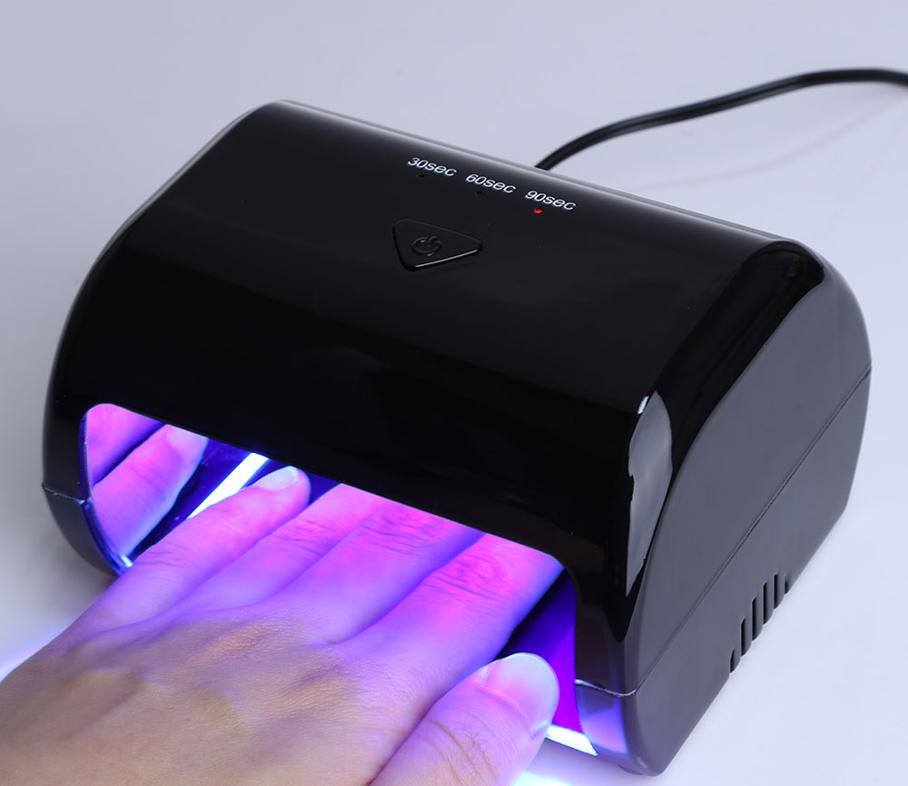GY - LED - 024 9W Manicure Tool  3 High Power LED Phototherapy Nail Gel Lamp