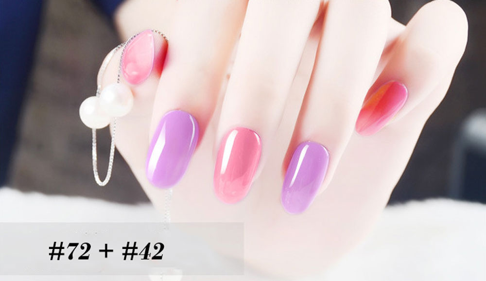 Lasting Bright Colorful LED 18 Colors UV Gel Manicure Nail Polish