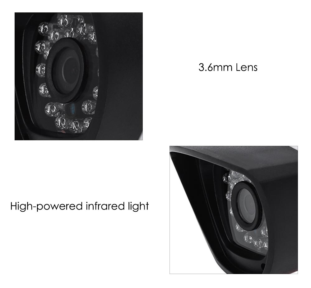 B05W 720P Wireless IR-CUT Night Vision IP Network Camera with Motion Detection