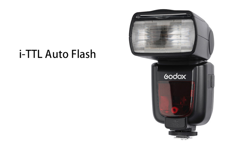 Godox V860IIN 2.4G Wireless HSS 1/8000s Master Flashlight for Nikon