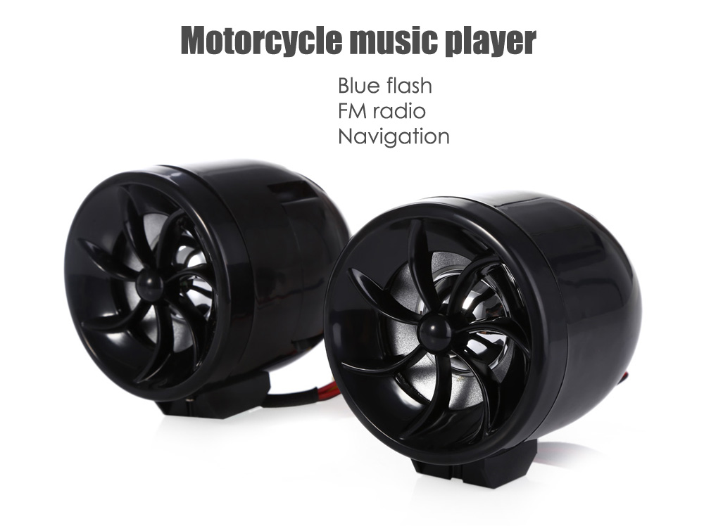 AOVEISE MT483 Professional Motorcycle Music Audio Sound Player Alarm