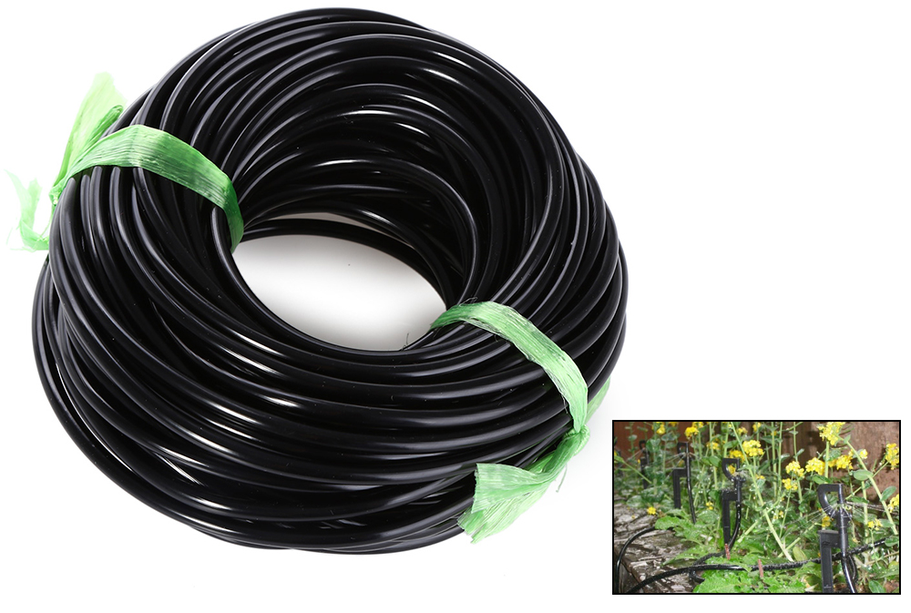 20M 3 / 5MM Micro Irrigation Pipe Water Hose Drip Watering Home Garden Greenhouse