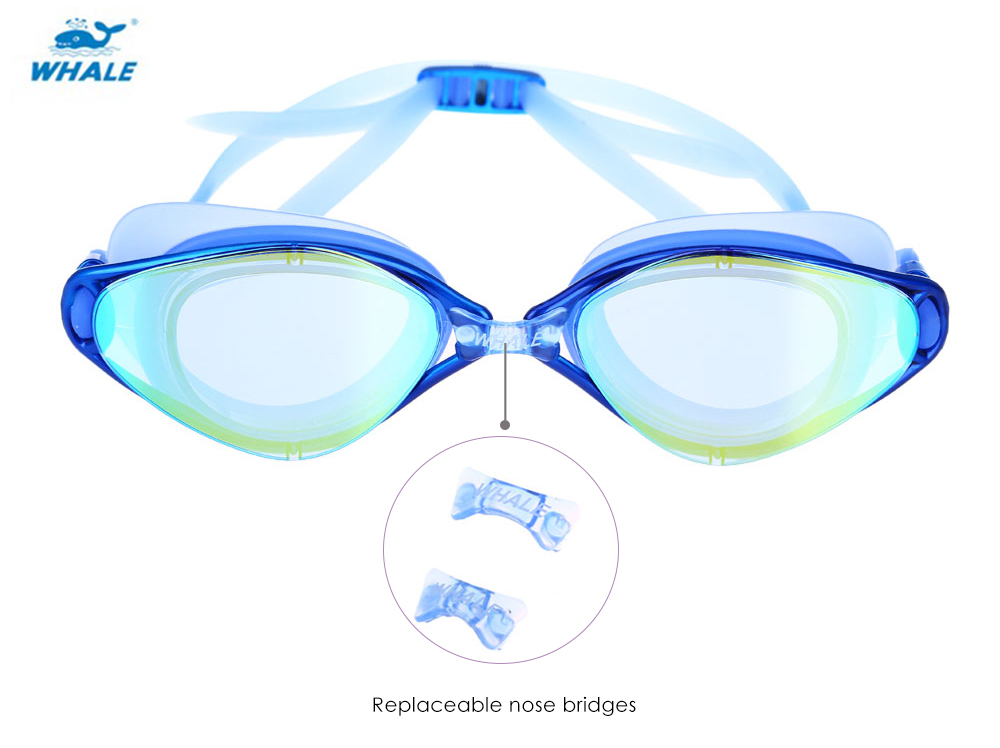 WHALE Anti-fog Underwater Goggle Protective Eyeglasses Swimming Tool