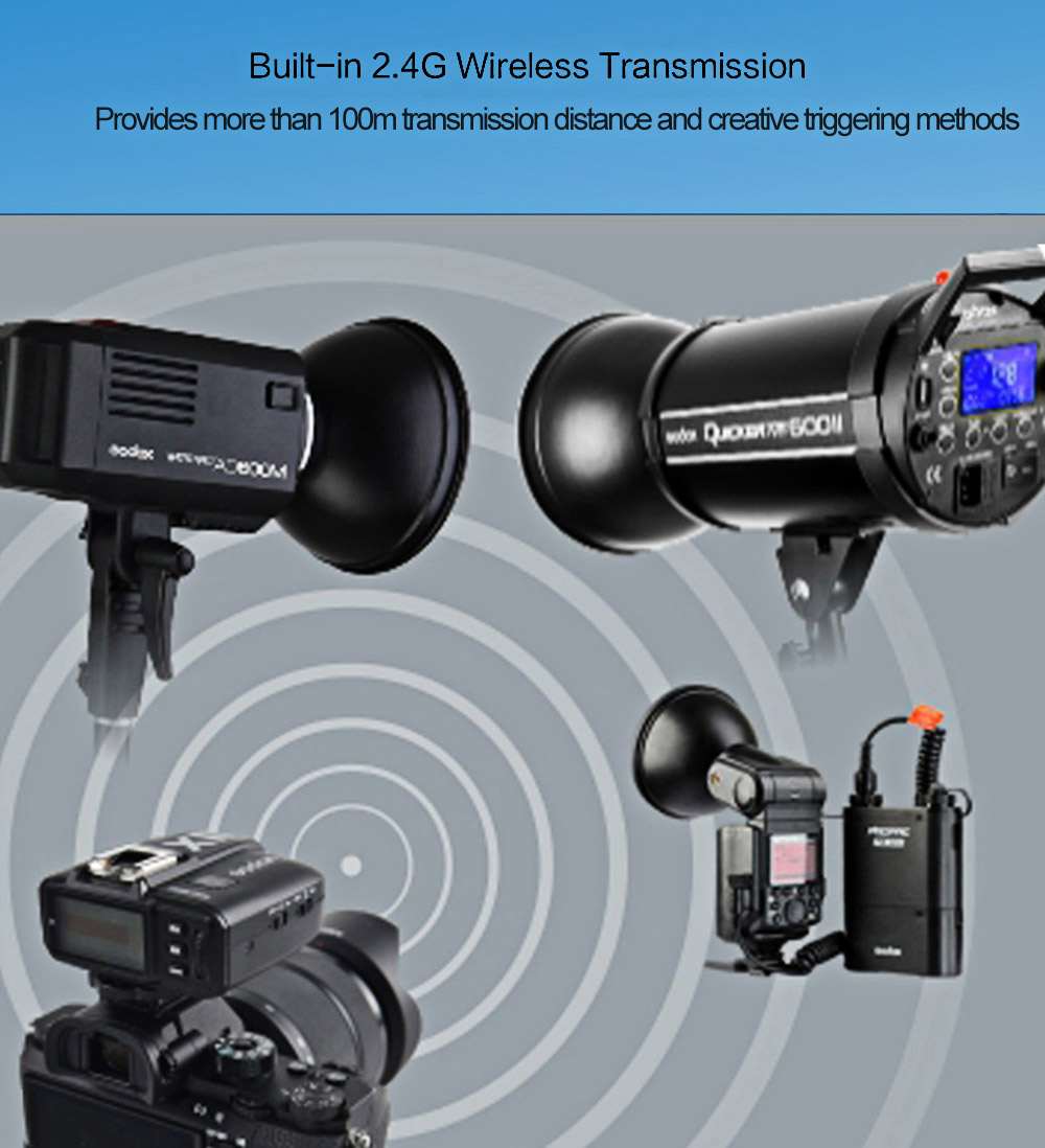 Godox X1T - N TTL 2.4GHz Wireless Transmission Multi-channel Triggering Flash Trigger for Nikon Series Cameras