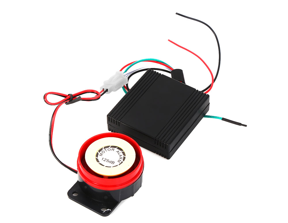 Professional Anti-theft Motorcycle Security Remote Control Driving Alarm System