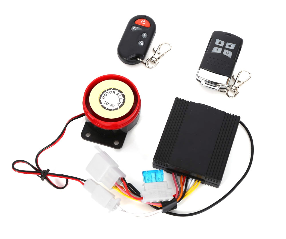 Professional Anti-theft Motorcycle Remote Start Driving Vibration Alarm System