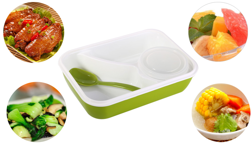 Multifunctional Lunch Box Microwave Food Containers for Students Adults