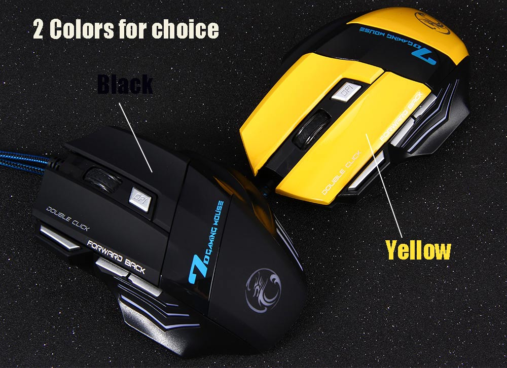 Estone X7 3200DPI LED Optical 7D USB Wired Gaming Mouse