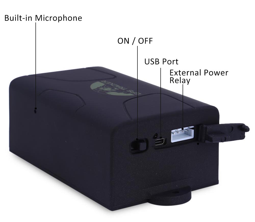 TK104B Portable Vehicle Tracking System Ultra-long Standby GPS / GSM / GPRS Position Terminal