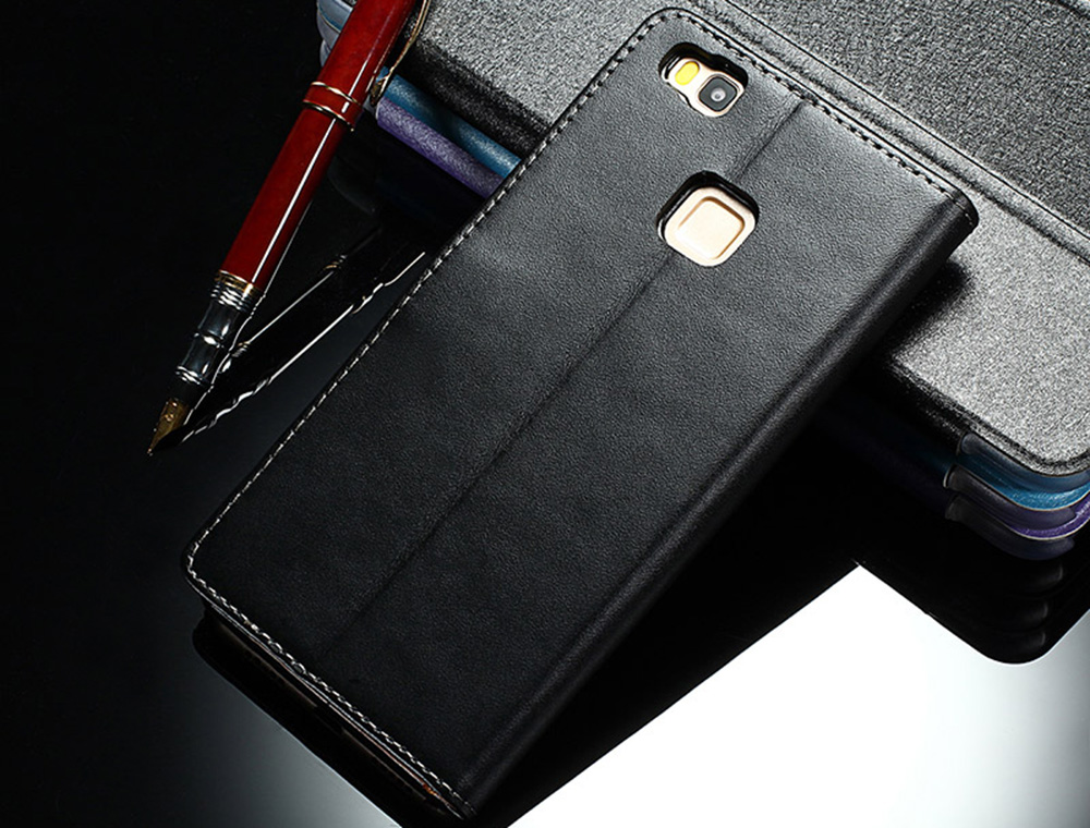 Magnetic Flip PU Leather Stand Case Wallet Cover for Huawei P9 LITE