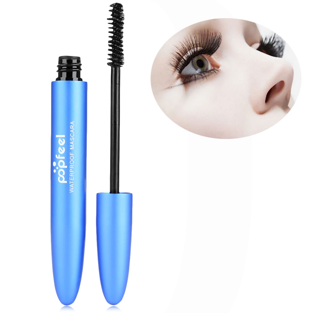 Make-up Cover Blemish Cream + Waterproof Long Lasting Makeup Eyebrow Pen + Extension Volume Curling Black Mascara