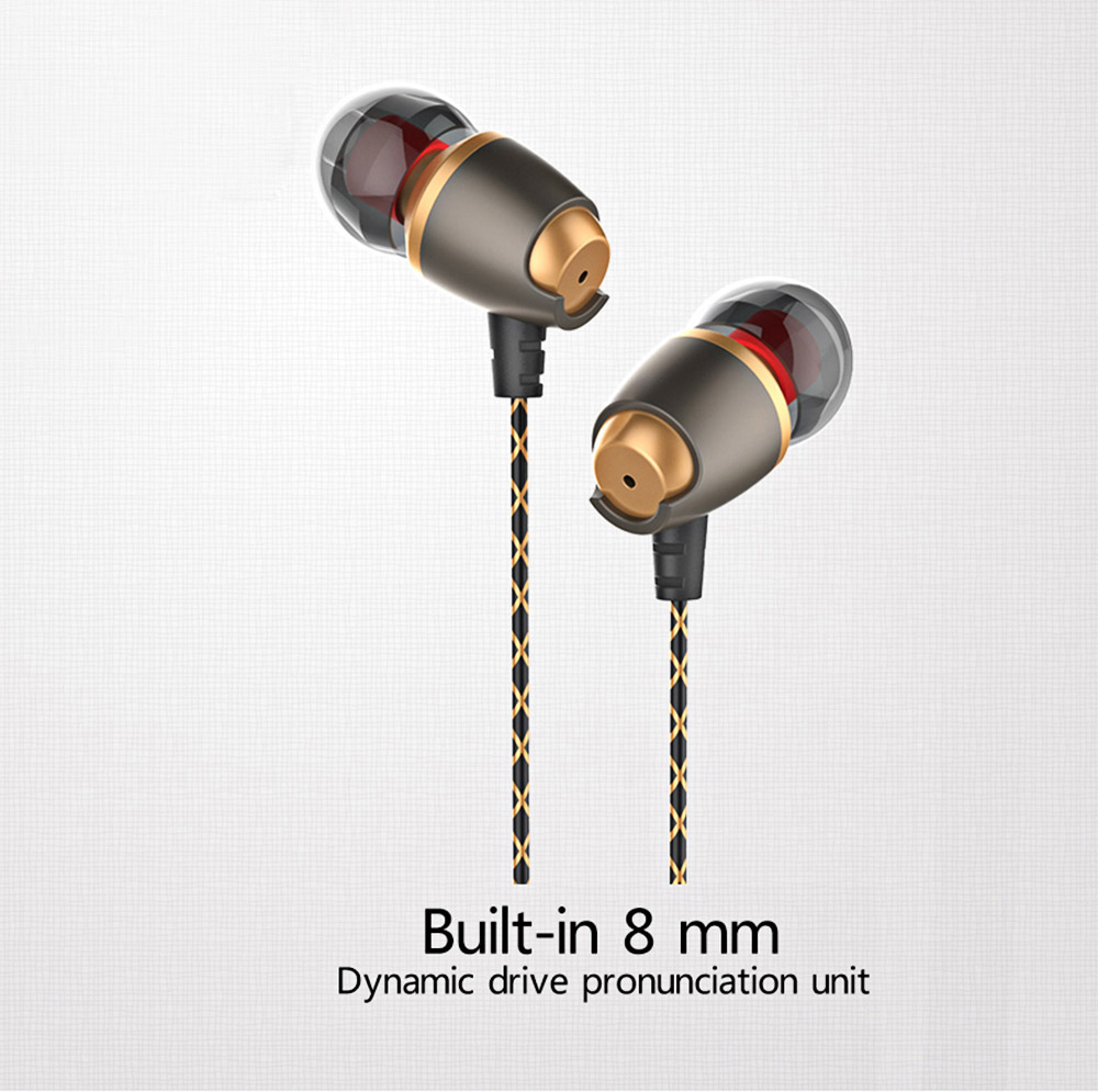 PLEXTONE X50M Rich Bass Stereo Headsets 3.5mm Plug Sports In-ear Earphones