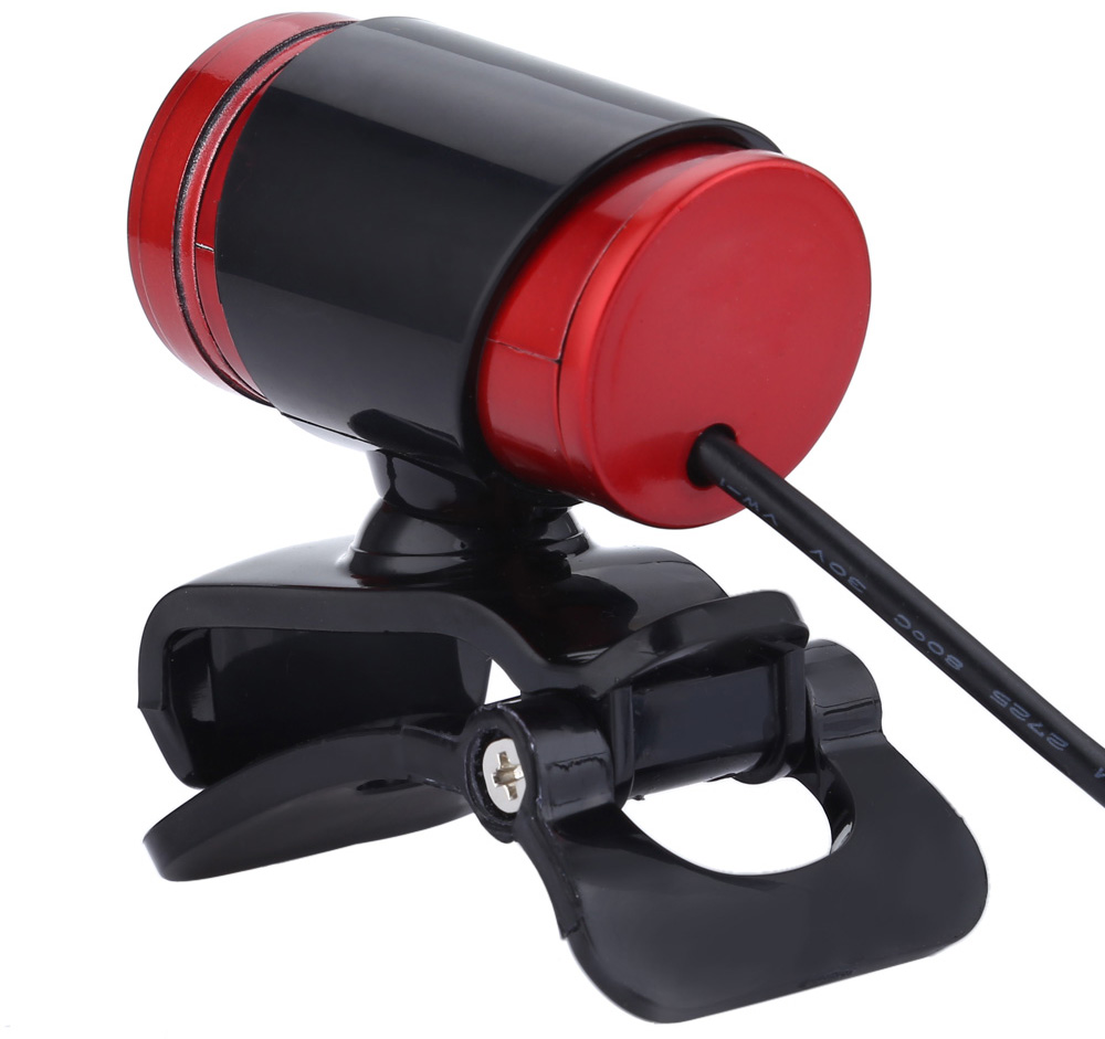 A860BR USB 2.0 1.3 Megapixel HD Camera Webcam with MIC Clip-on 360 Degree