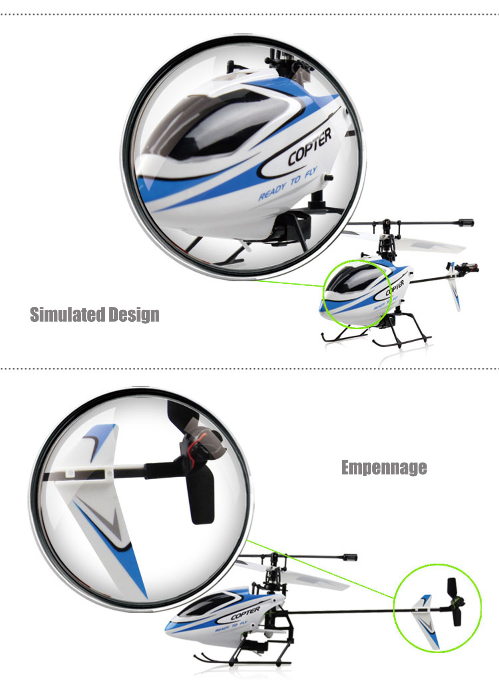 WLtoys V911 2.4G 4CH 3-Axis Gyro RTF Remote Control Helicopter Toy