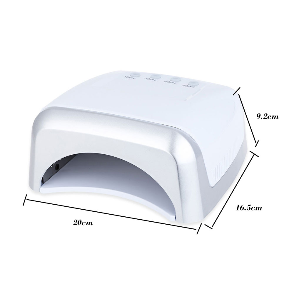 60W UV / LED Dual Purpose High Power Manicure Tool LED Phototherapy Nail Gel Lamp