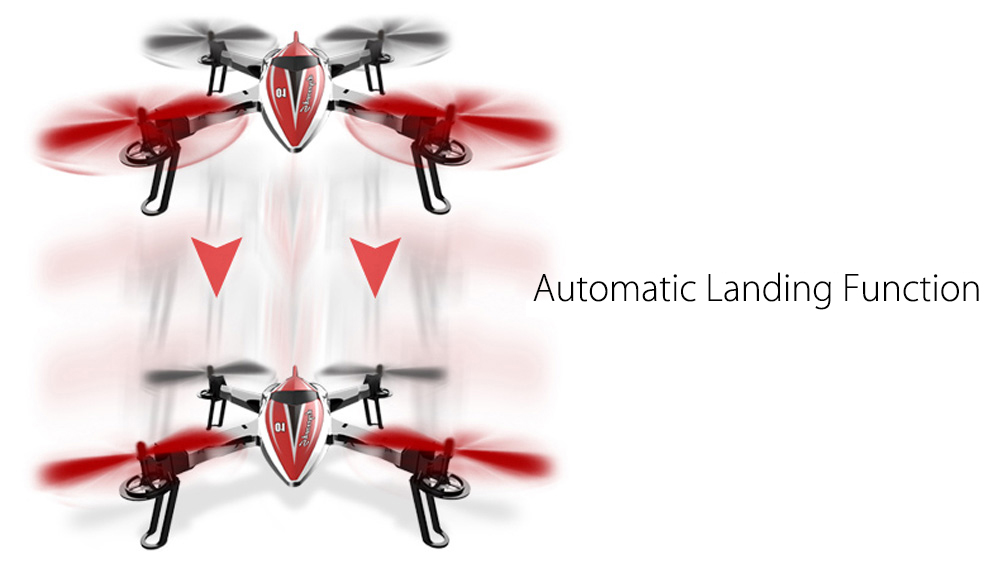 WLtoys Q212 2.4G 4CH 6-Axis Gyro RTF Remote Control Quadcopter Drone Toy