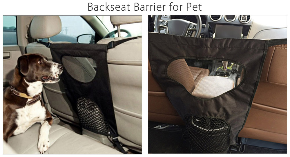 Automobile Safety Pet Backseat Barrier for Travel Use