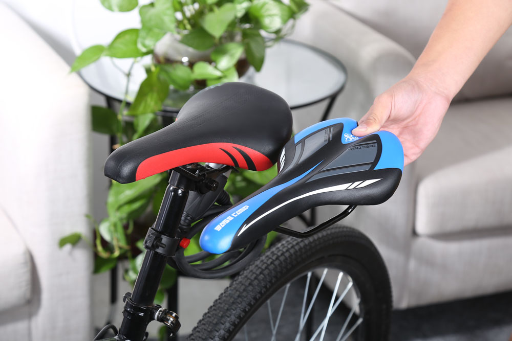 BaseCamp Cycling Bicycle MTB Leather Ride Cushion Seat Mat Saddle Bike Parts Accessory