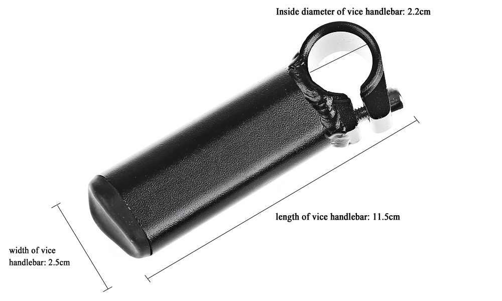 Paired Bicycle MTB Manillar Carbon Bar End Road Bike Replacement Part Handlebar