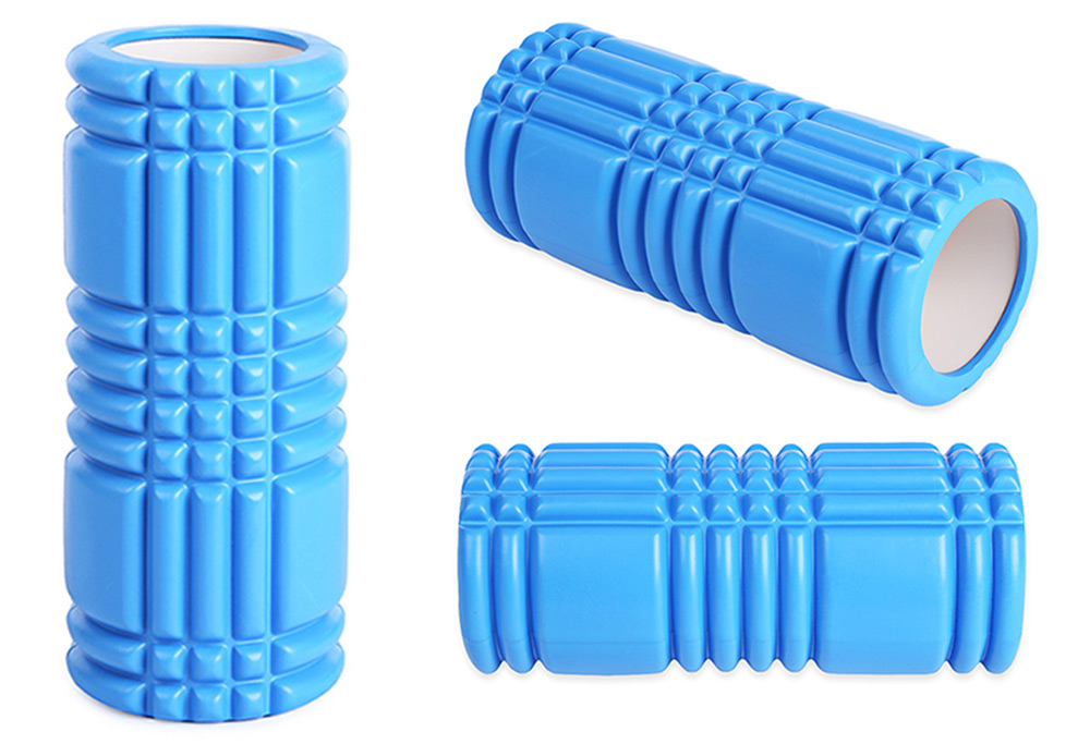 Yoga Pilates Column Roller with Grid Trigger Point
