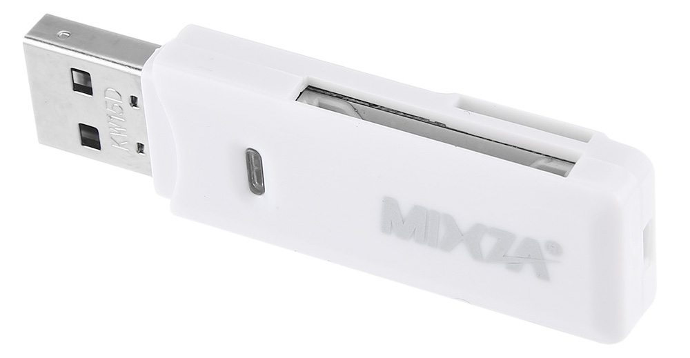 MIXZA USB 2.0 480Mbps Multi-format SD / Micro SD Card Reader