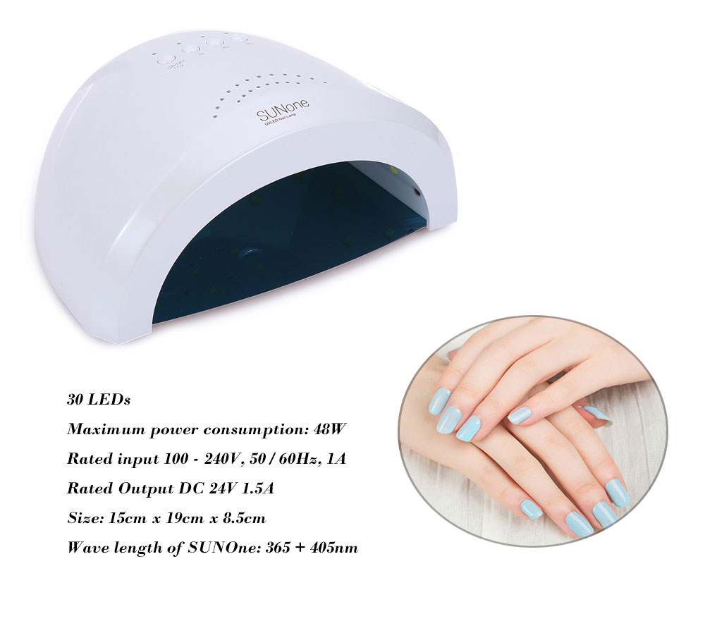 SUNone 48W Manicure Tool UV / LED Phototherapy Nail Gel Lamp