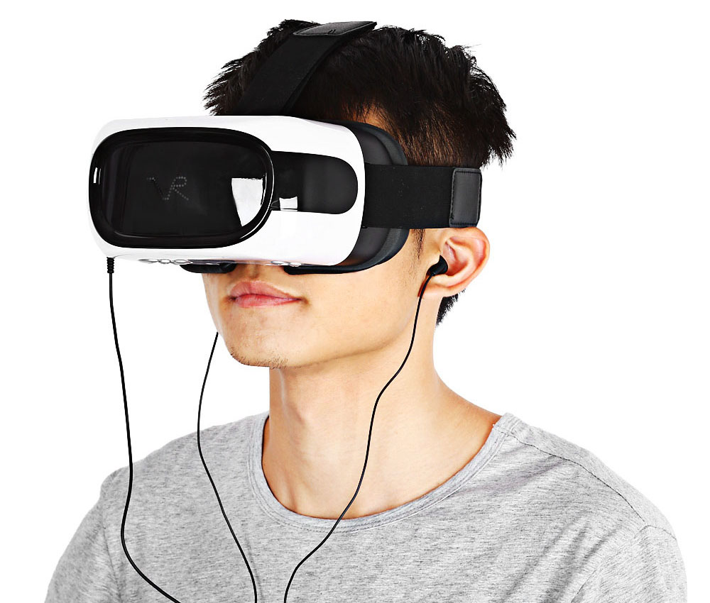 720P HD Immerse Virtual Reality Headset 3D Glass All-in-one VR Glasses