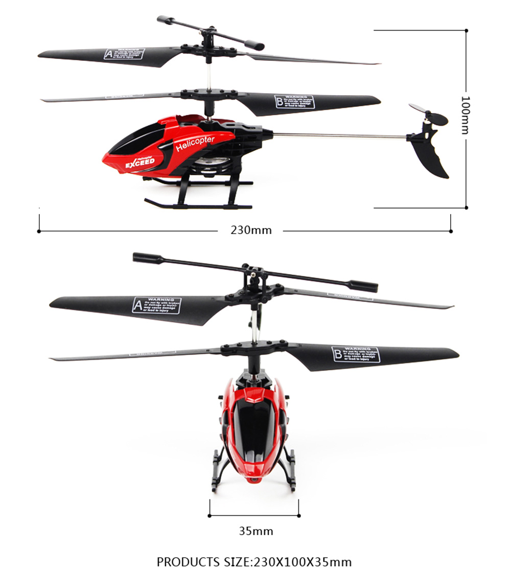FQ777 610 3.5CH 6-Axis Gyro RTF Infrared Control Helicopter Aircraft Toy
