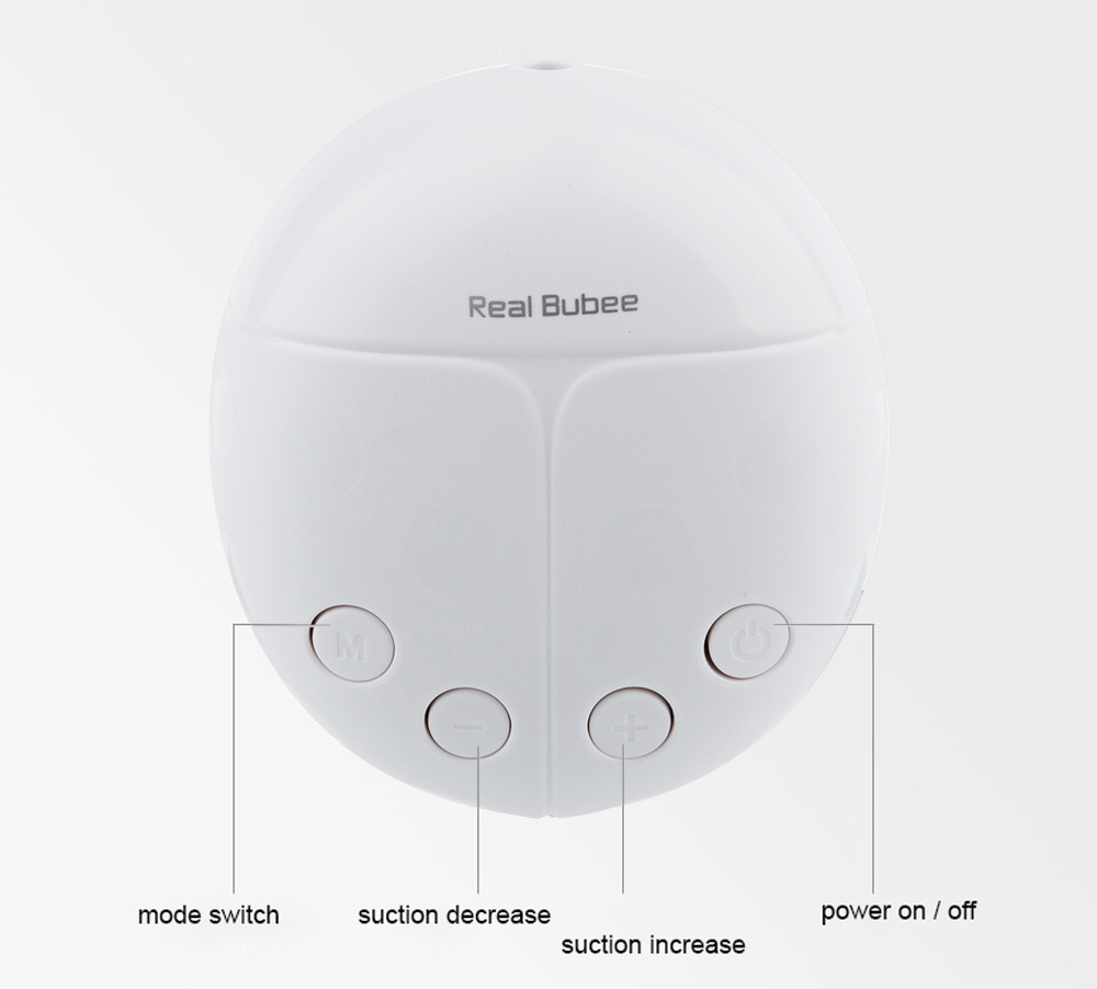 Powerful Double Intelligent Microcomputer USB Electric Breast Pump with Milk Bottle
