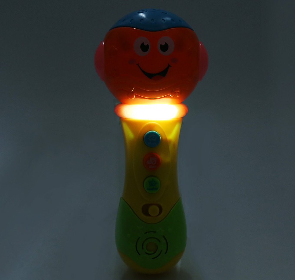 Musical Flashing Projection Microphone Learning Machine Toy