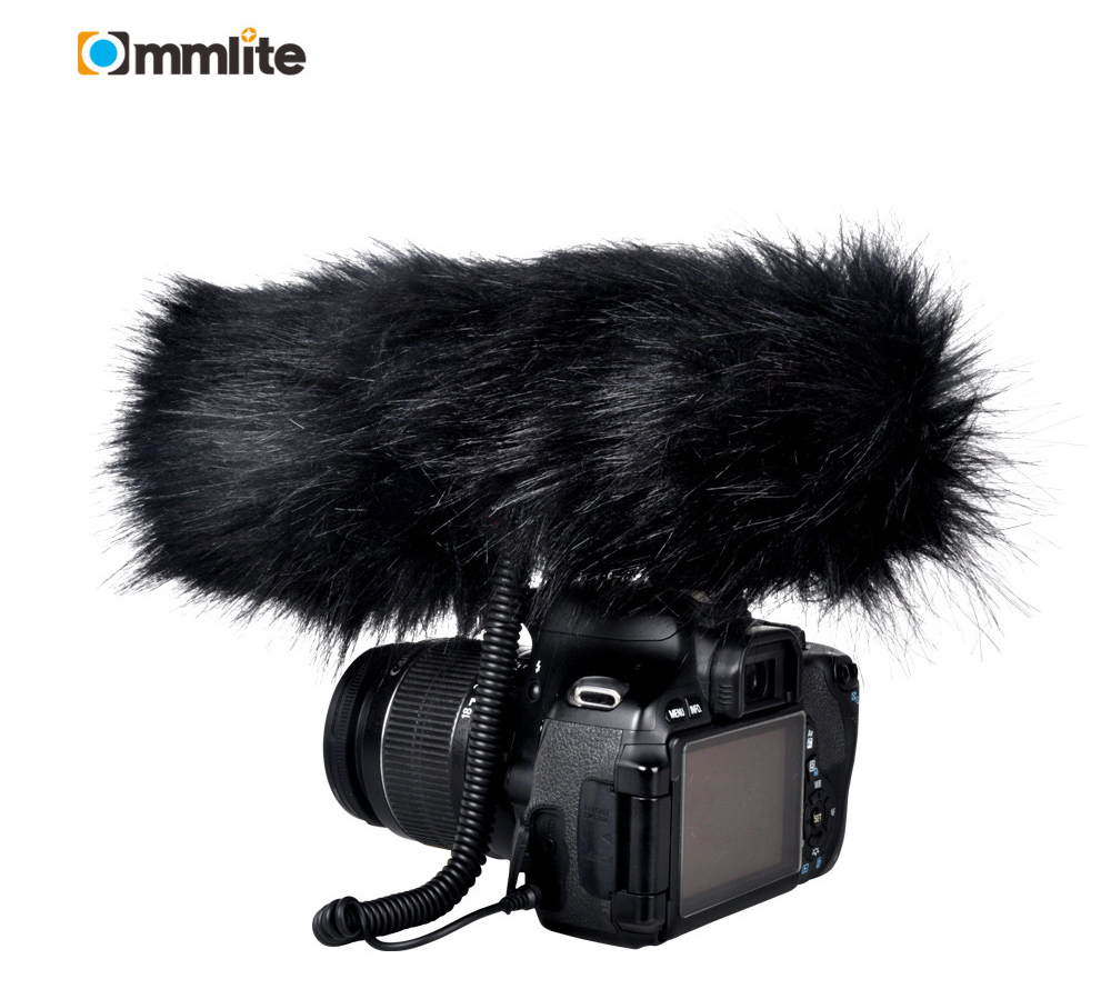 Commlite CVM V30 Photography Interview Shotgun Camera Mic Microphone